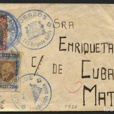 Sellos: GUERRA CIVIL, SOBRE, FRANQUICIA MILITAR, 145 BRIGADA MIXTA, LA PUEBLA DE HÍJAR, TERUEL, 1938. Lote 267243204