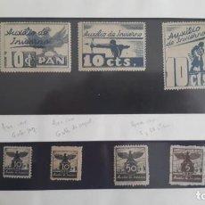 Selos: SELLOS GUERRA CIVIL. AUXILIO DE INVIERNO.. Lote 267461294