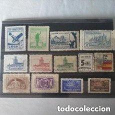 Timbres: LOTE DE SELLOS Y VIÑETAS DE LA GUERRA CIVIL.. Lote 267514919