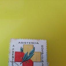Sellos: GUIPÚZCOA FORNIER VICTORIA ASISTENCIA A FRENTES Y HOSPITALES USADO GUERRA CIVIL ESPAÑOLA. Lote 267764484