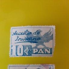 Sellos: MATASELLO ARRIBA ESPAÑA AUXILIO DE INVIERNO PAN. Lote 267767809