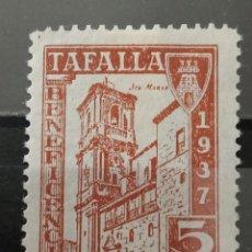 Sellos: ESPAÑA. LOCAL TAFALLA 1937. NUEVO *. Lote 268803979