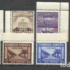Sellos: 8405B-SELLOS ESPAÑA 1938 GUERRA CIVIL LOCALES ISLA CRISTINA Y HUEVAR ,HUELVA Y SEVILLA BENEFICENCIA. Lote 269186513