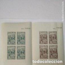 Sellos: ESPAÑA - GUERRA CIVIL - MONTCADA - TERUEL POR LA REPUBLICA - 2 HB - MNH. Lote 269311908