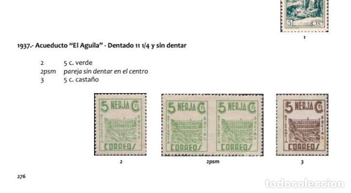 Sellos: España Guerra Civil Nerja Sellos Viñetas serie 5cts Descripción reseñas Catalogo - Foto 3 - 269456463