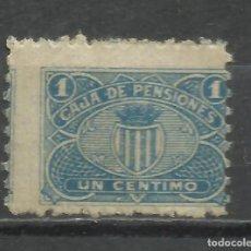 Sellos: SO117-SELLO FISCAL CORPORATIVO CAJA PENSIONES BARCELONA 1 CENTIMO.SPAIN REVENUE,CINDERELLA,CLASSIC.A. Lote 269576513