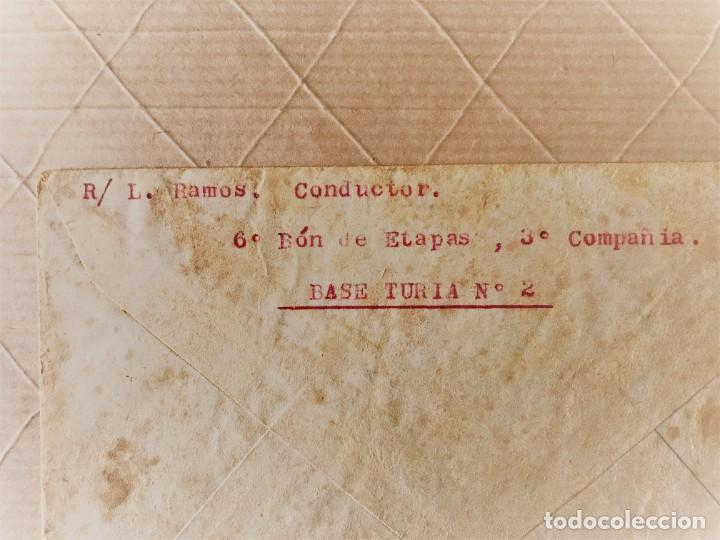 Sellos: VALENCIA- GUALBA (BARCELONA) CARTA CIRCULADA DESDE EL FRENTE DE VALENCIA 1938 - Foto 2 - 270931883