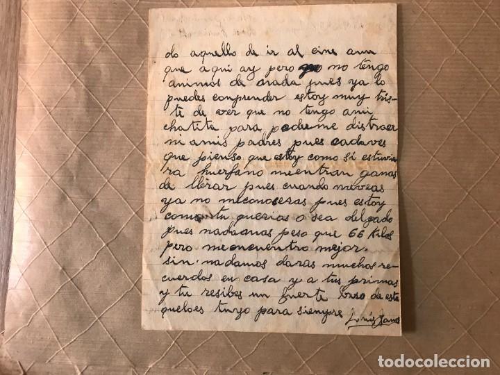 Sellos: VALENCIA- GUALBA (BARCELONA) CARTA CIRCULADA DESDE EL FRENTE DE VALENCIA 1938 - Foto 5 - 270931883