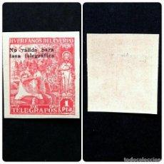 Sellos: ESPAÑA.AÑO 1938.HUERFANOS DE TELEGRAFOS-BENEFICENCIA.. Lote 271141283