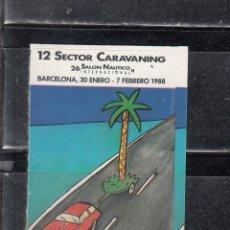 Sellos: SECTOR AUTOMOVIL. EXPO INTERNACONAL EN BARCELONA. Lote 271355288