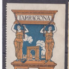 Sellos: FC3-48- VIÑETA TARRAGONA TEMPERATURAS * CON FIJASELLOS. 63 X 41 MM. Lote 271641768