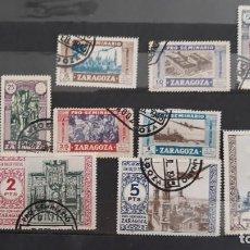 Selos: LOTE 11 SELLOS PRO SEMINARIO ZARAGOZA USADOS ESPAÑA 1945. Lote 273403673