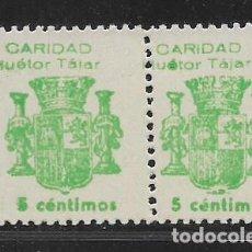 Sellos: HUETO TAJAR- GRANADA- 5 CTS. PAREJA CON VARIEDAD,- VER FOTO. Lote 273410533