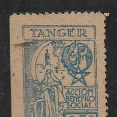 Selos: TANGER, 50 CTS. ACCION BENEFICO SOCIAL,. VER FOTO. Lote 273412388