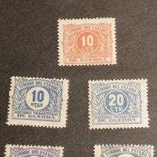 Sellos: ESPAÑA SELLOS IMPUESTOS GUERRA 1938 GUERRA CIVIL YVERT 28/32 NUEVOS. Lote 273662273