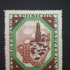 Sellos: VIÑETA ORIGINAL EXPOSICIÓN INTERNACIONAL DE BARCELONA. 1929.. Lote 275608973