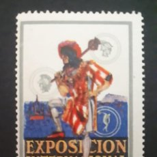 Sellos: VIÑETA ORIGINAL EXPOSICIÓN INTERNACIONAL DE BARCELONA. 1929.. Lote 275609043