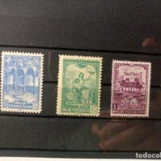 Sellos: BENEFICENCIA DEL AÑO 1937 EDIFIL 10/12 EN NUEVO**. Lote 276690508