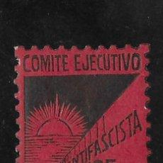 Francobolli: VALL DE UXO (CASTELLON). EDIFIL 10*. 25 CTS NEGRO SOBRE ROJO. Lote 276806803