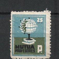 Timbres: MUTUA DE PROFESORES 25 CTS (*) - 2/50. Lote 278411613