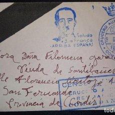 Sellos: 1936.- A SAN FERNANDO (CÁDIZ). Lote 278687818