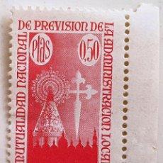 Francobolli: MUTUALIDAD NACIONAL DE PREVISION DE LA ADMINISTRACION LOCAL. 0,50 PTAS. ROJO. NUEVO.. Lote 280687253
