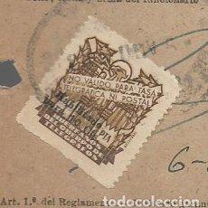 Sellos: GIRO TELEGRAFICO, SELLO 1 PTA, HABILITADO 10 CTS, VER FOTO. Lote 284184428