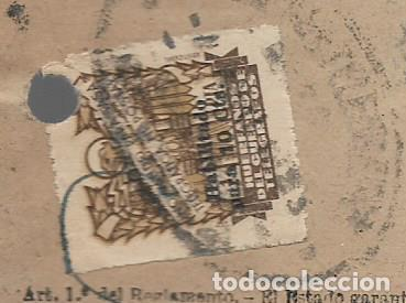Sellos: GIRO TELEGRAFICO, SELLO 1 PTA, HABILITADO 10 CTS, VER FOTO - Foto 2 - 284184538