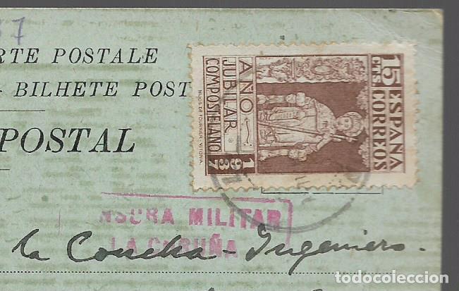 Sellos: POSTAL PATRIOTICA,- GOBIERNO CIVIL LA CORUÑA,- C.M. LA CARUÑA- VER FOTOS - Foto 3 - 284312853