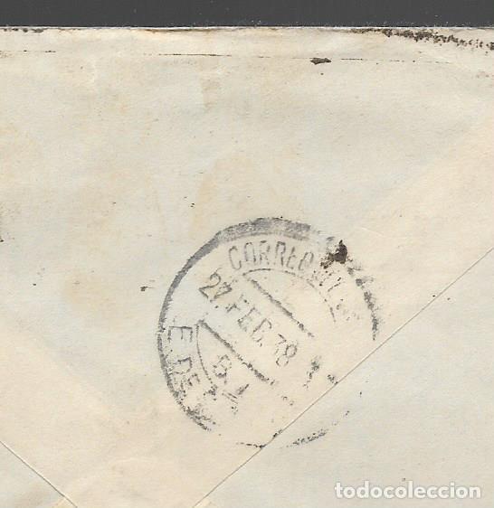 Sellos: CARTA Y SOBRE,- DIRIGIDA A LAS BRIGADAS INTERNACIONALES, VER FOTOS - Foto 2 - 284569678