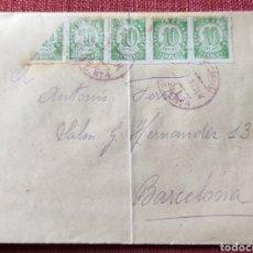 Francobolli: GUERRA CIVIL CARTA BRIGADAS INTERNACIONALES E.C NO 4 BI INCLUYE CARTA 1938. Lote 284660323