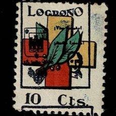 Timbres: NC-1713 GUERRA CIVIL FRENTES Y HOSPITALES GALVEZ Nº 16 VARIEDAD CON LA SOBRECARGA DE LOS LOCALES DE. Lote 284767928