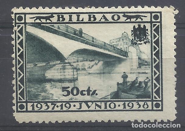 1937 BILBAO 50 CTS NUEVO* (Sellos - España - Guerra Civil - Locales - Nuevos)