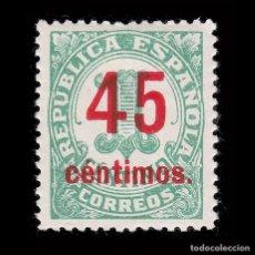 Francobolli: 1938.CIFRA.45C S 1C.MNH.CENTRADO.EDIFIL.742. Lote 285137838