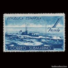 Francobolli: ESPAÑA.1938.CORREO SUBMARINO.1P.MH EDIFIL.775. Lote 285317393