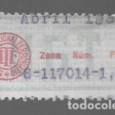 Francobolli: VIÑETA,- U.G.T.- SIN. NACIONAL FERROVIARIO.- VER FOTO. Lote 285668833