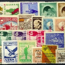 Timbres: LOTE SELLOS GUERRA CIVIL Y BENEFICENCIA. Lote 286208323