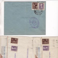 Francobolli: HP4-1- GUERRA CIVIL . HISTORIA POSTAL LOTE DE 9 PIEZAS. CENSURAS. VER 4 IMÁGENES. Lote 286356178