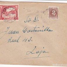 Francobolli: HP4-3- HISTORIA POSTAL GUERRA CIVIL CARTA IMPRESOS ARDALES MÁLAGA 1938 . LOCALES. Lote 286360958