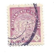 Sellos: AYUNTAMIENTO DE SALAMANCA. 5 PTS. SELLO MUNICIPAL.. Lote 286835938