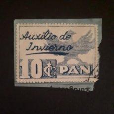 Sellos: AUXILIO DE INVIERNO 10 CTS USADO SOBRE FRAGMENTO.. Lote 286956383