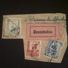 Sellos: CRUZADA CONTRA EL FRIO,10 CTS USADO SOBRE FRAGMENTO.. Lote 286956813