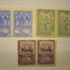Sellos: AÑO 1937 HOGAR TELEGRAFICO SELLOS NUEVOS EDIFIL 10-11-12 VALOR DE CATALOGO 15,50 EUROS. Lote 287046598