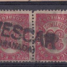 Selos: BB16-CIFRA REPÚBLICA MATASELLOS LINEAL HUESCAR GRANADA. Lote 287232133