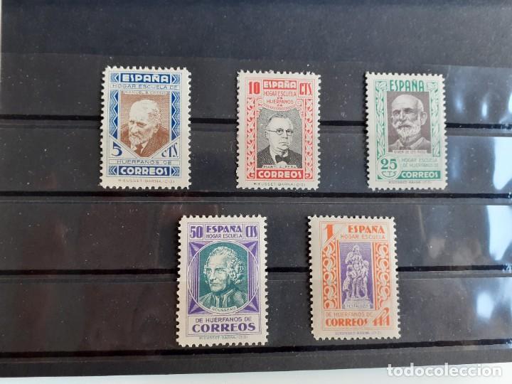 BENEFICENCIA DEL AÑO 1937 MUY BIEN CENTRADOS EDIFIL 12/16 EN NUEVO** (Sellos - España - Guerra Civil - Beneficencia)