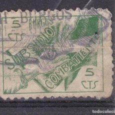 Selos: BB20- GUERRA CIVIL SUBSIDIO COMBATIENTE BURGOS 5 CTS. Lote 287401963