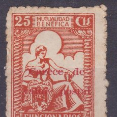 Selos: BB23-VIÑETA MUTUA BENÉFICA FUNCIONARIOS DE PRISIONES (*). Lote 287406643