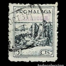 Sellos: CL8-14 GUERRA CIVIL ALAMEDA (MALAGA) FESOFI Nº 41 USADO T.FI. Lote 287458933