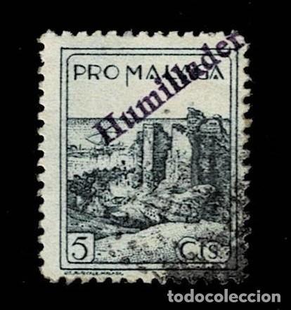 CL8-14 GUERRA CIVIL HUMILLADERO (MALAGA) FESOFI Nº 101 USADO T.FI (Sellos - España - Guerra Civil - Locales - Usados)