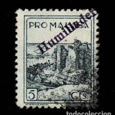 Sellos: CL8-14 GUERRA CIVIL HUMILLADERO (MALAGA) FESOFI Nº 101 USADO T.FI. Lote 287459838